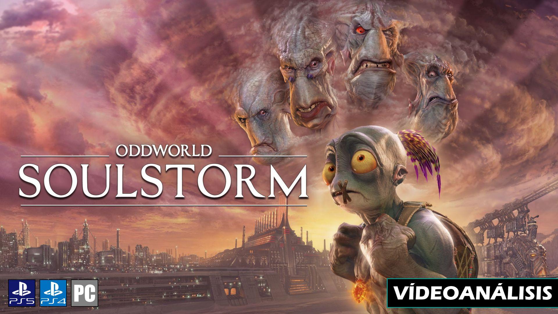 Vídeo análisis de Oddworld: Soulstorm
